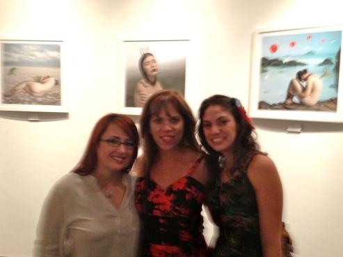 """""""Ethereality"""": photography by Alexandra Marrero at The Granite Room. (From left) Alexandra Marrero, Rose Barron, & Priscilla Alarcon"""