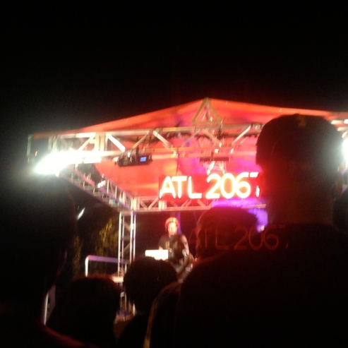 A3C stage at Flux Night
